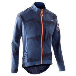 MTB jas voor MTB touring heren ST 500 blauw