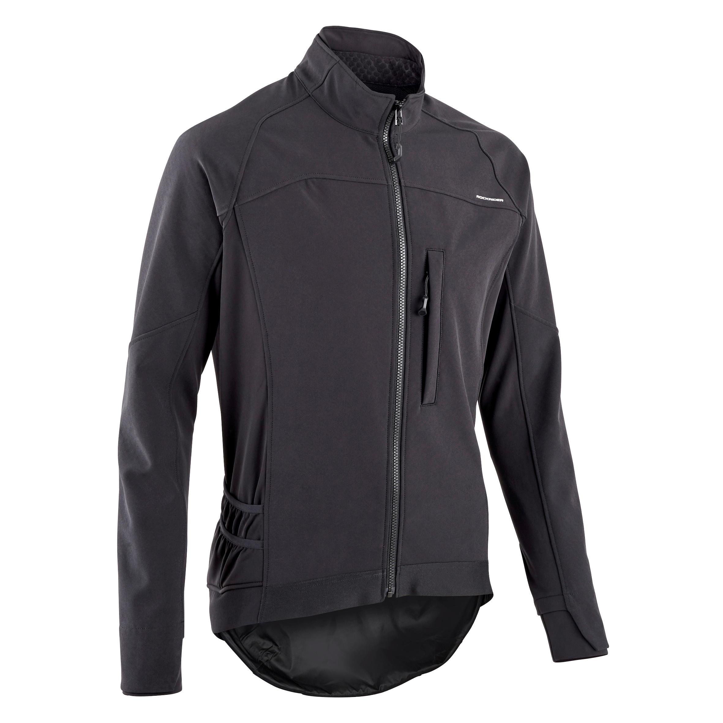 Jachetă Ciclism ST 500 Bărbați imagine