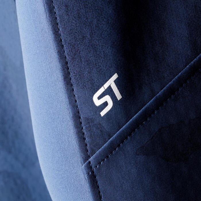 Veste de VTT Randonnée Homme ST 500 bleu