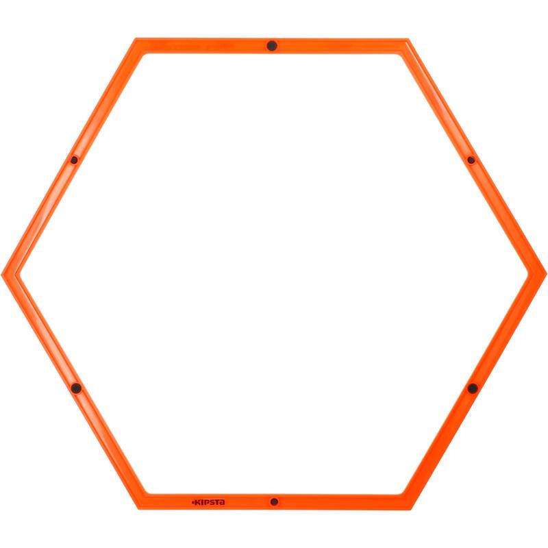 Aro Hexagonal Kipsta Entrenamiento 58 cm Naranja