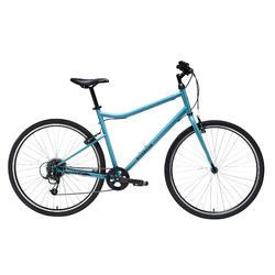 Hybride fiets Riverside 120 blauw