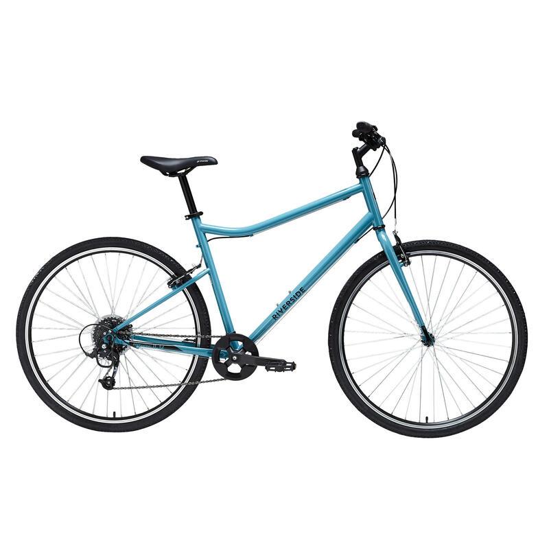 Riverside 120 Hybrid Bike - Blue