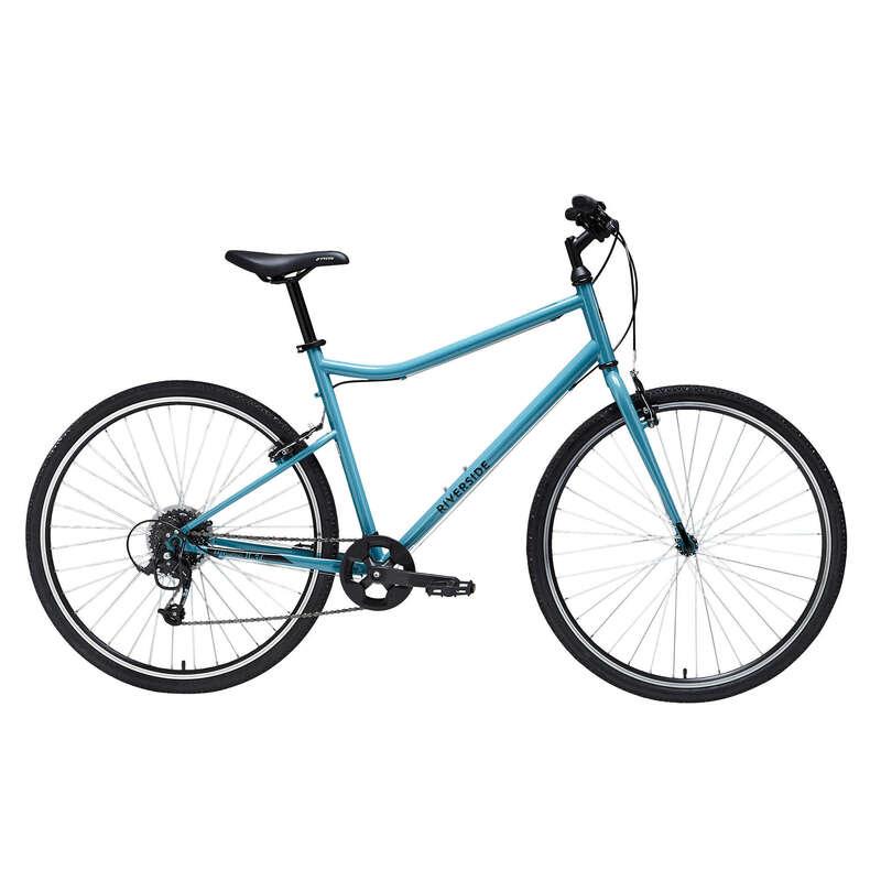 HYBRIDCYKEL LÅNGTURER Cykelsport - RS120 C2 RIVERSIDE - Cyklar