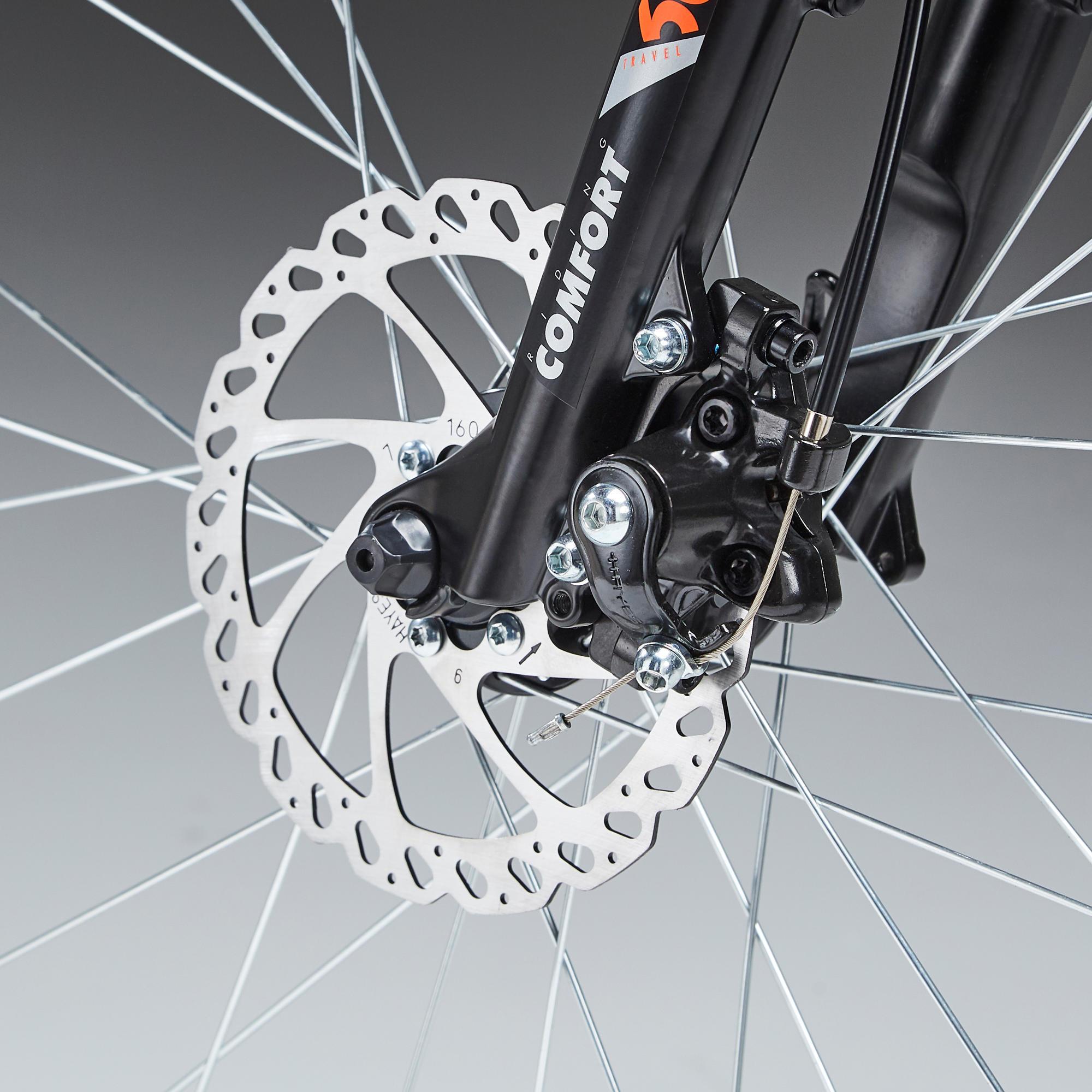 Timbre bicicleta bicicleta de montaña e-bike timbre campana trekkinrad BMX negro