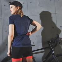 """Sieviešu riteņbraukšanas īspiedurkņu džersijs """"500"""", tumši zils"""