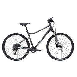 Hybride fiets Riverside 900 groen