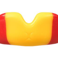 Protège dents de rugby GILBERT junior rouge jaune