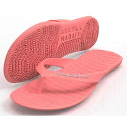女款泳池夾腳拖TONGA 100 BASIC - 粉紅色