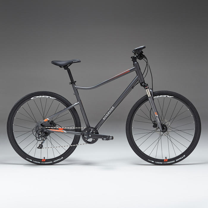 Cross Bike 28 Zoll Riverside 900 Alu grau