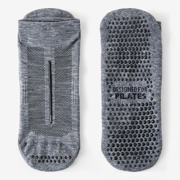 Chaussettes Antidérapantes Sport Pilates Gris