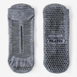 Chaussettes Antidérapantes Sport Pilates homme Gris
