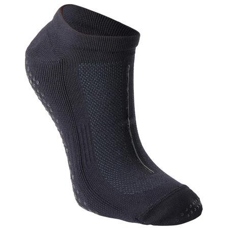 Kaus kaki Olahraga Anti Selip Pilates Pria - Hitam