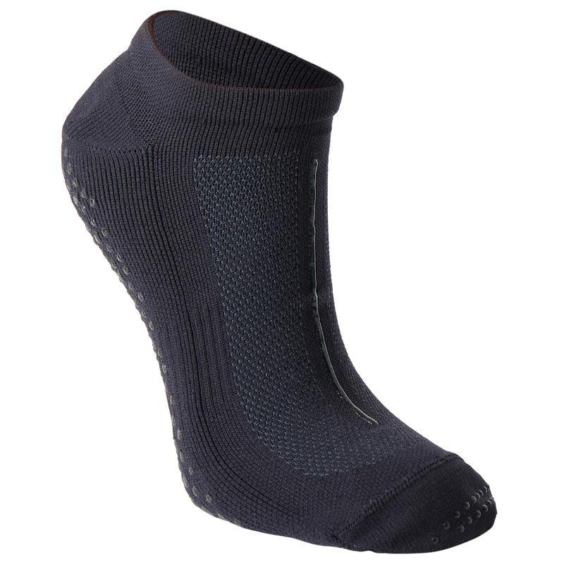 Non-Slip Breathable Fitness Socks - Black