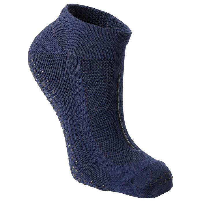 Chaussettes Antidérapantes Fitness Respirantes Bleu Marine