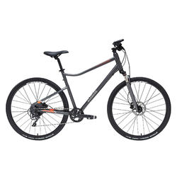 VÉLO TOUT CHEMIN RIVERSIDE 900 GRIS ORANGE