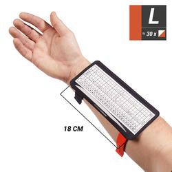 Armband Postenbeschreibung Orientierungslauf Größe L