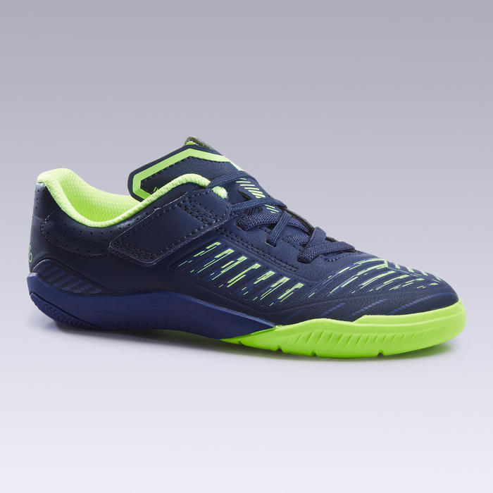 Kids' Futsal Shoes Ginka 500 - Dark Blue