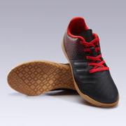 Kids' Futsal Shoes 100 - Black