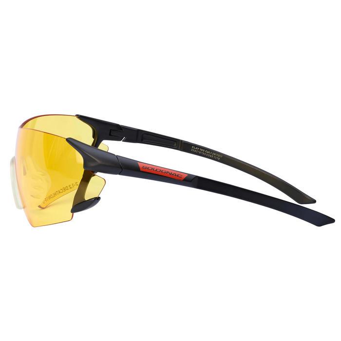 Beschermbril voor sportschieten en jacht geel glas