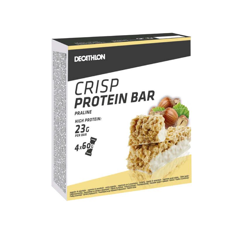 PROTEINE E COMPLEMENTI ALIMENTARI Proteine e complementi - Barrette proteiche pralin x4 DOMYOS - Boutique alimentazione 2019