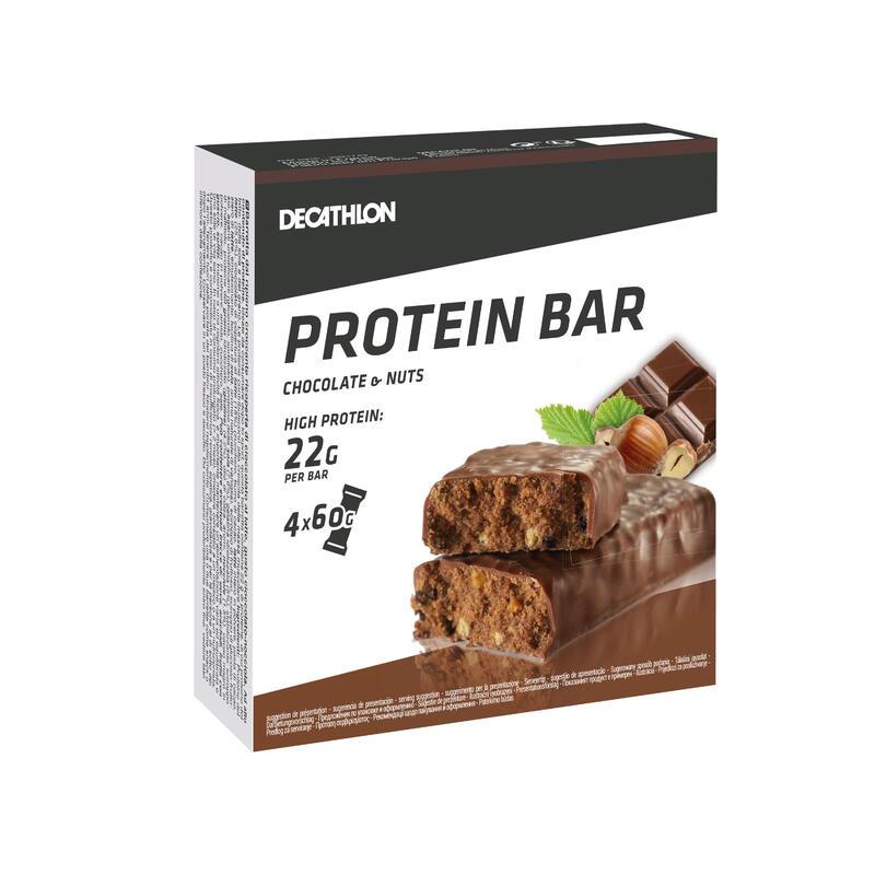 Barritas Proteínas Pack 4 (22 gr.) Whey Protein BAR chocolate avellana
