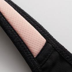 經典跑步運動內衣 - 黑色/粉色