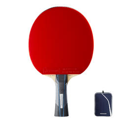 Club Table Tennis Bat TTR 930 Speed & Cover
