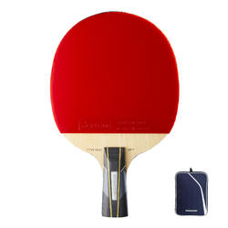 Club Table Tennis Bat TTR 960 Spin C-Pen & Cover