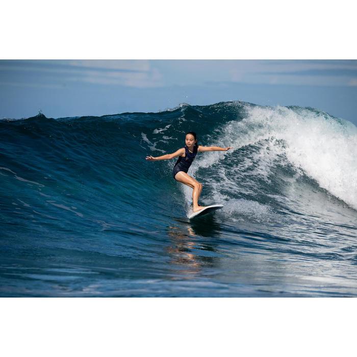 FATO DE BANHO SURF MENINA AZUL PRETO MANLY 900