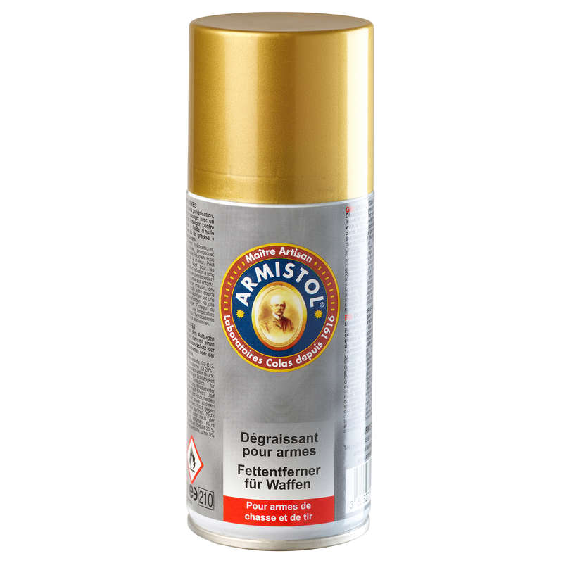 WEAPON ACCESSORIES Shooting and Hunting - Aerosol Gun Degreaser ARMISTOL - Hunting and Shooting Accessories
