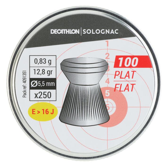 PLOMB PLAT 5,5mm x 250q
