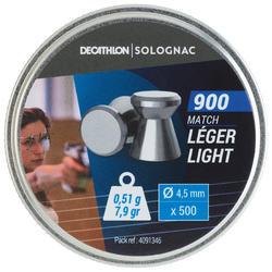 Luchtdrukkogeltjes 900 Precision Light 500 stuks