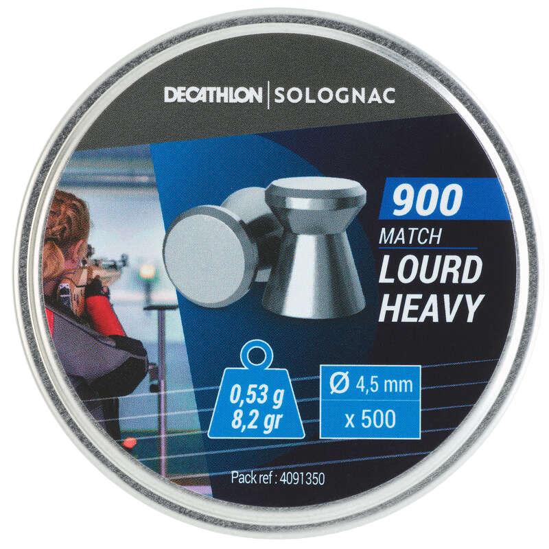 Piombi bersagli aria compressa Tiro sportivo - Piombo 900 pesante x 500 SOLOGNAC - Tiro sportivo
