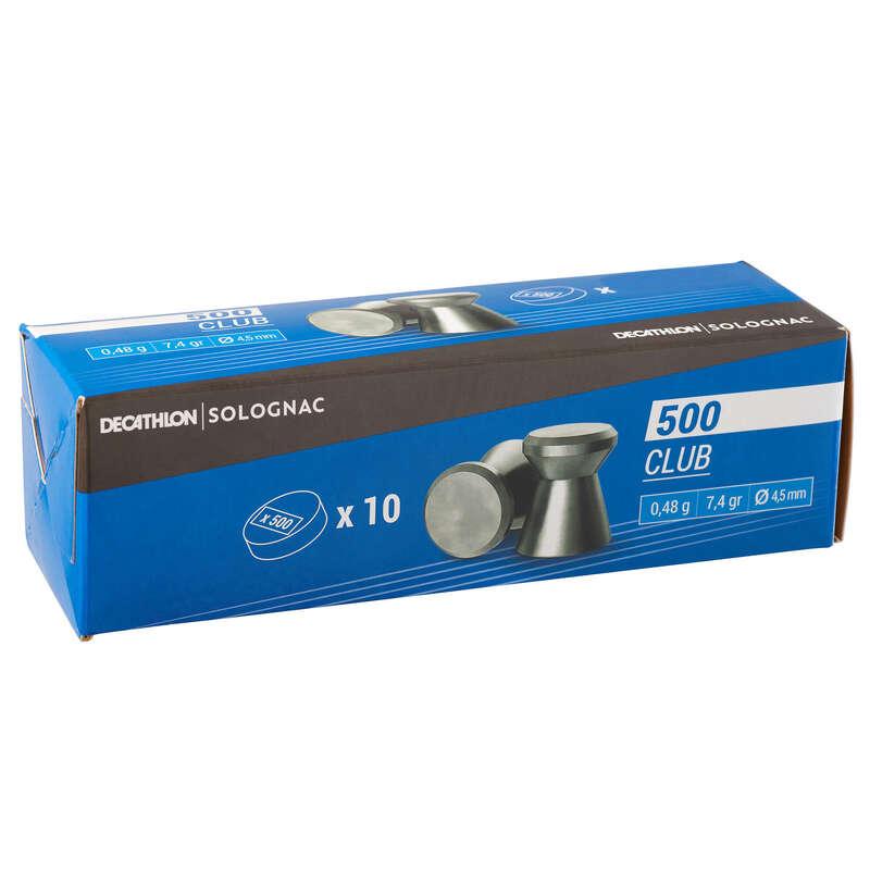 Piombi bersagli aria compressa Tiro sportivo - Piombo 500 CLUB x 10 scatole SOLOGNAC - Tiro sportivo
