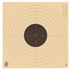 Alvo para Pistola de Ar Comprimido a 10 metros X100 17 x 17 cm