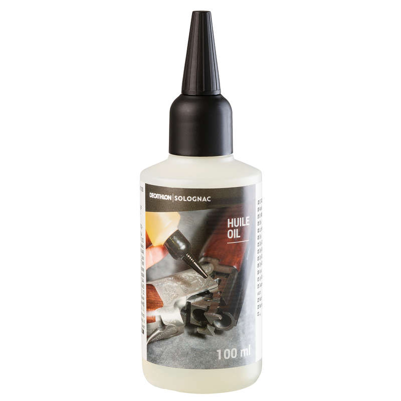 WEAPON ACCESSORIES Shooting and Hunting - Gun Oil Bottle 100 SOLOGNAC - Shooting and Hunting