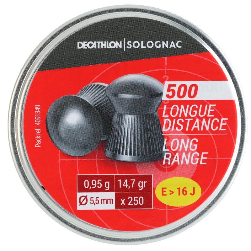 COMPRESSED AIR PELLET 500 5.5 mm CALIBRE - LONG DISTANCE