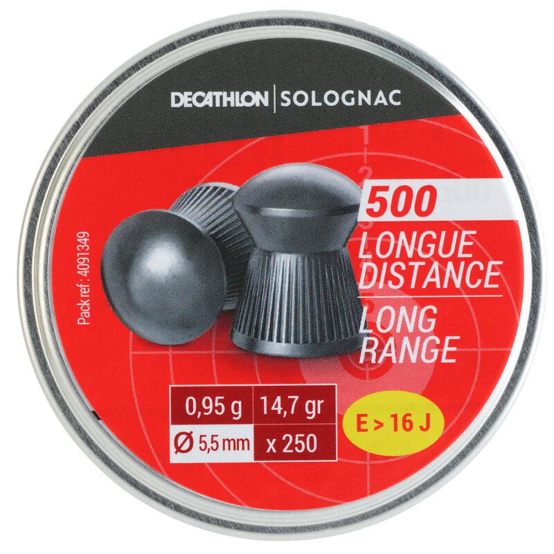 PLOMB AIR COMPRIME 500 CALIBRE 5,5mm LONGUE DISTANCE