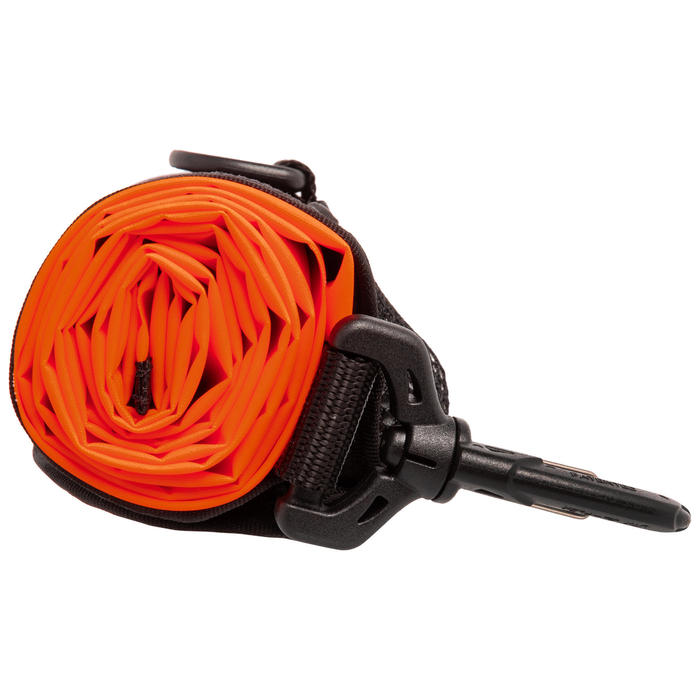 Parachute de Palier de plongée avec lest 140g SCD orange