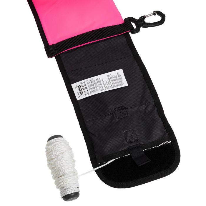 Parachute de Palier de plongée avec lest 140g SCD Rose