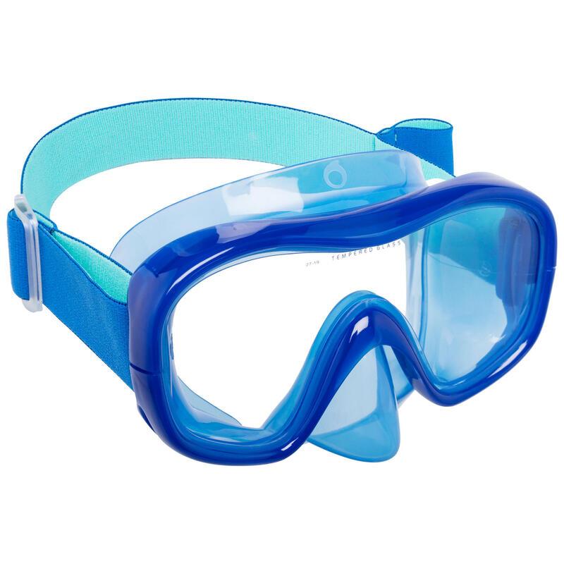 Snorkelmasker voor volwassenen SNK 520 blauw