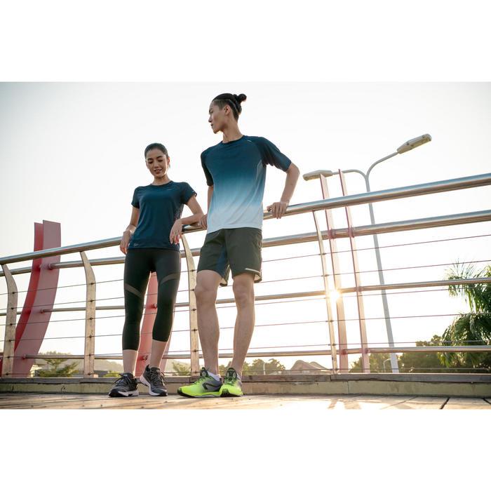 KIPRUN ULTRALIGHT MEN'S RUNNING SHOES - YELLOW/GREY