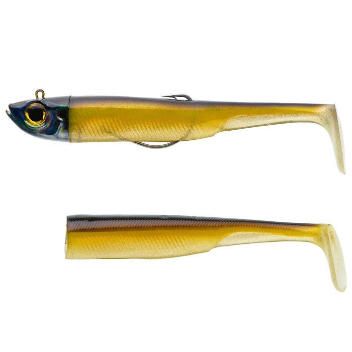 KIT leurre shad texan anchois ANCHO 150 35gr Ayu pêche en mer
