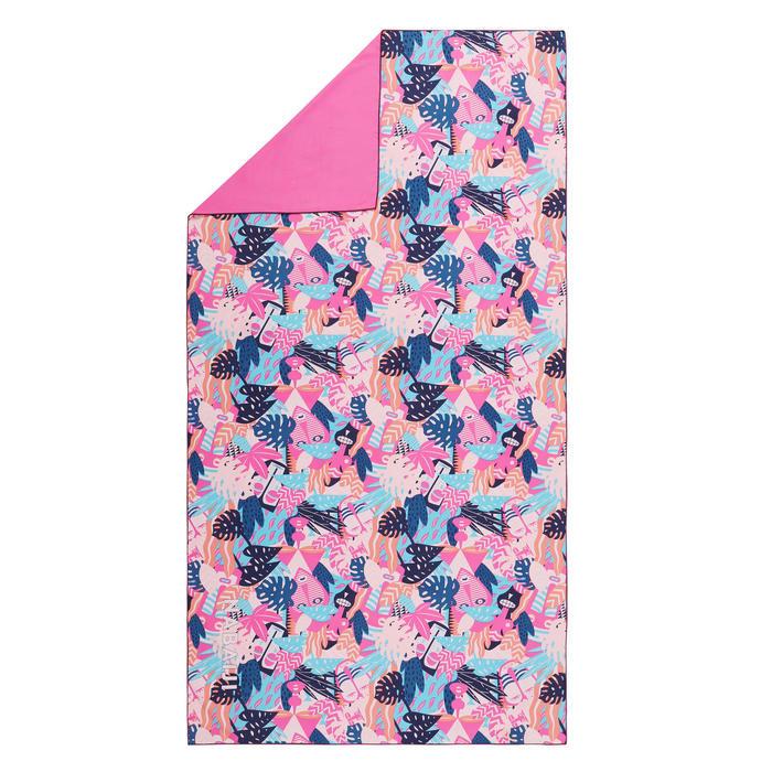 Printed microfibre towel L/XL