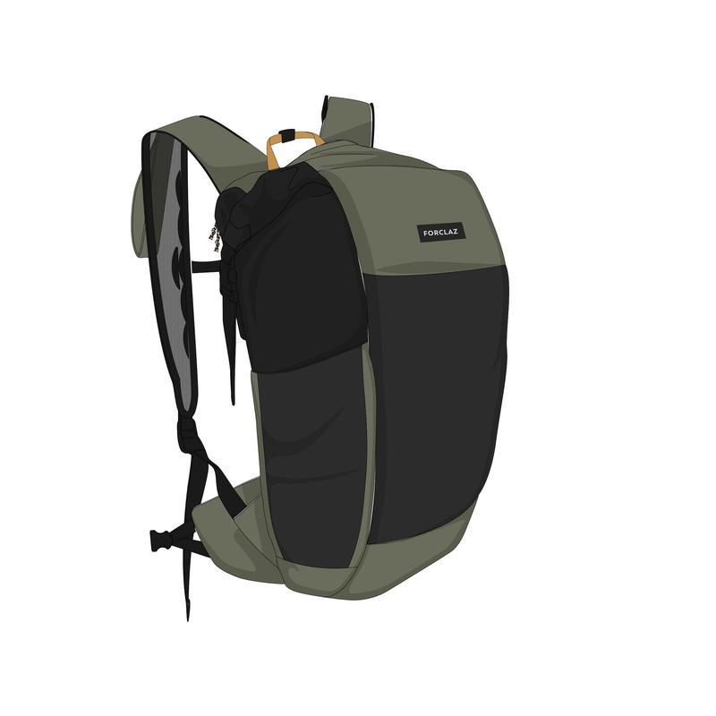 Compact Waterproof Bag TRAVEL 25 L Khaki