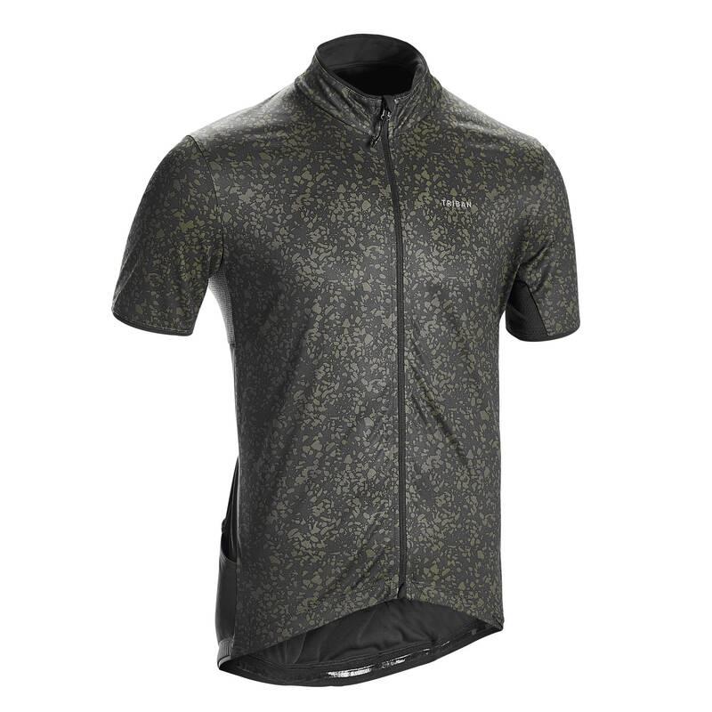 PÁNSKÉ OBLEČENÍ NA SILNIČNÍ CYKLISTIKU DO TEPLÉHO POČASÍ Cyklistika - PÁNSKÝ DRES RC500 TRIBAN - Cyklistické oblečení