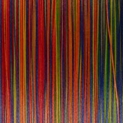 Gevlochten lijn exotische vissen zeevis 8 strengen MTX8 multicolor 300 m 40/100
