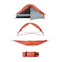 Tenda multifunções (tenda, cama de rede, abrigo, etc.) Qaou Initial 2 pessoas