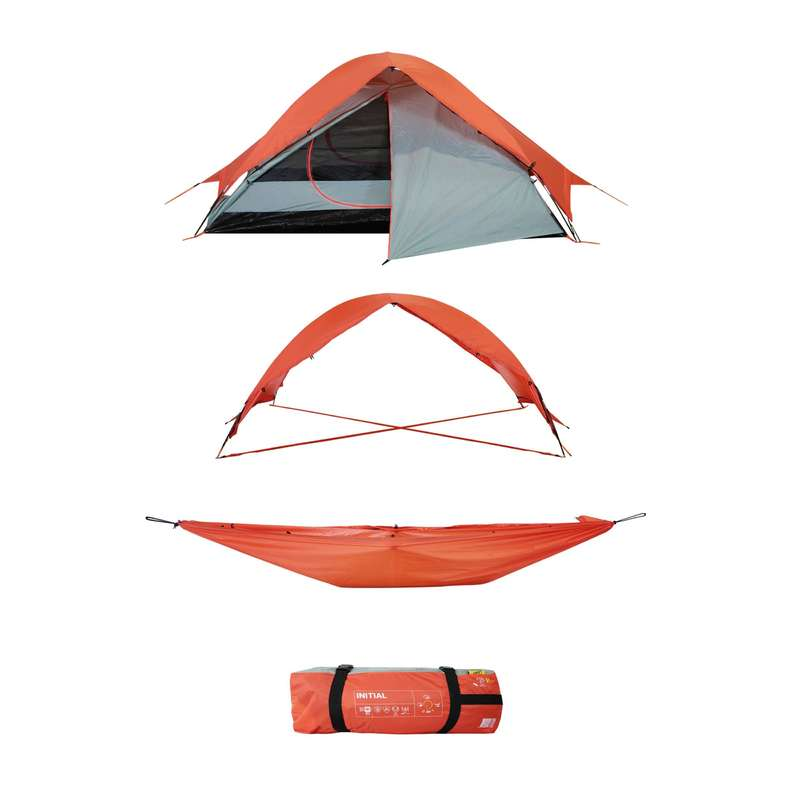 TOURING CAMP TENTS, TARPS Camping - Multifunction Tent Initial 2 P QAOU - Tents