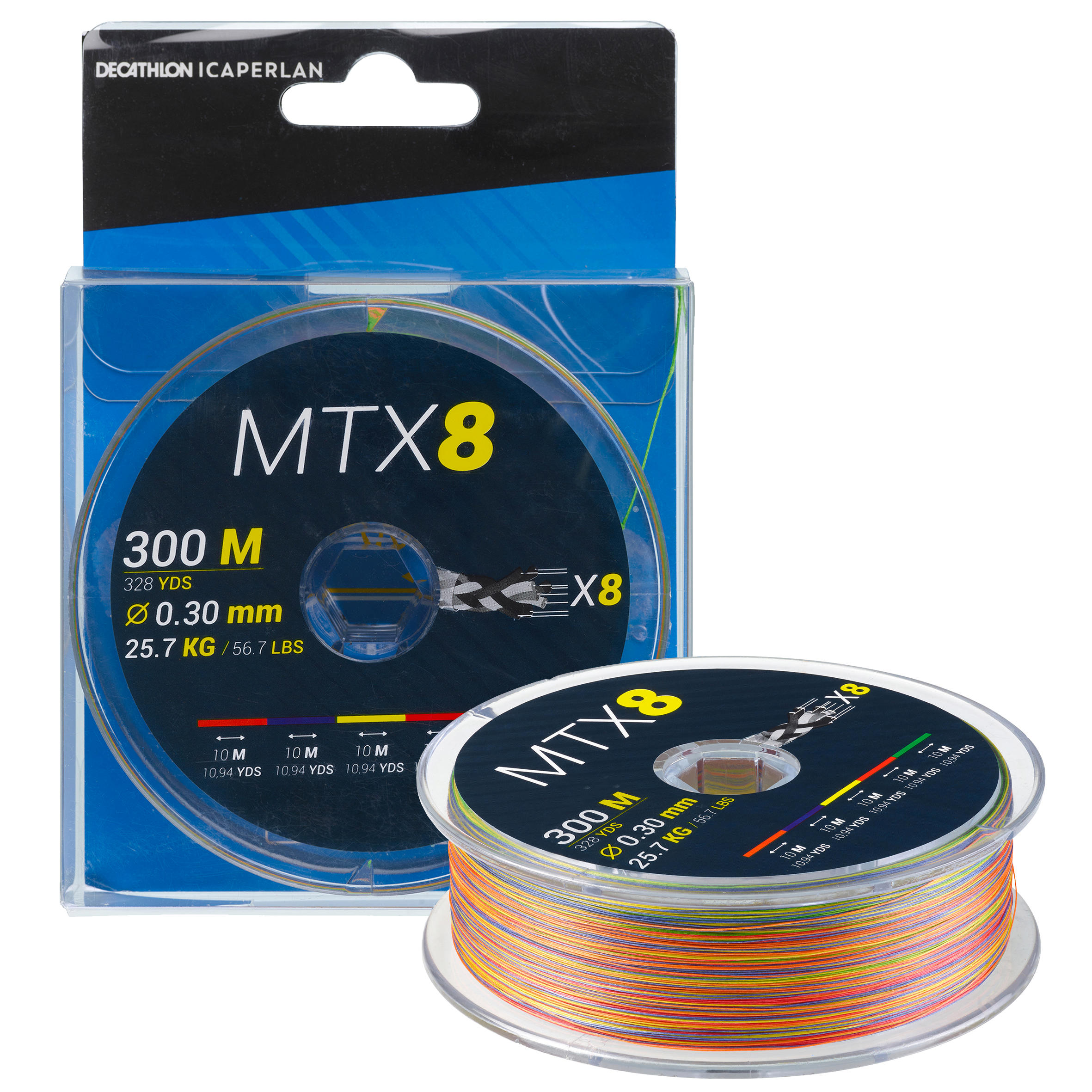 Fir textil MTX8 300 m 30/100
